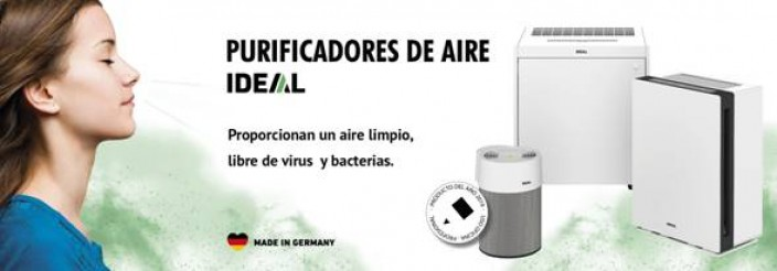 PURIFICADORES DE AIRE IDEAL