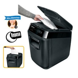 Destructora papel Fellowes Automax 130C uso frecuente 4680101