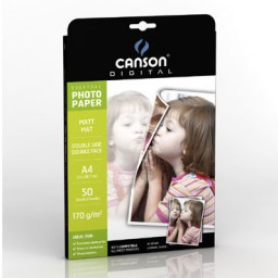 50HJ papel  Everyday mate 2 caras A-4 170 g/m² Canson 200004317